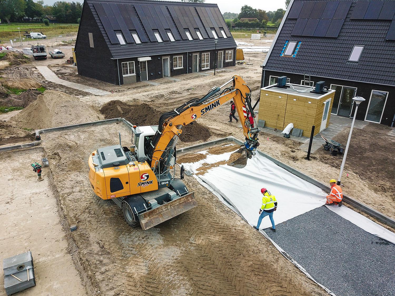 Duurzame oplossing voor het afvoeren van regenwater in nieuwbouwwijk De Dijkjes te Elburg